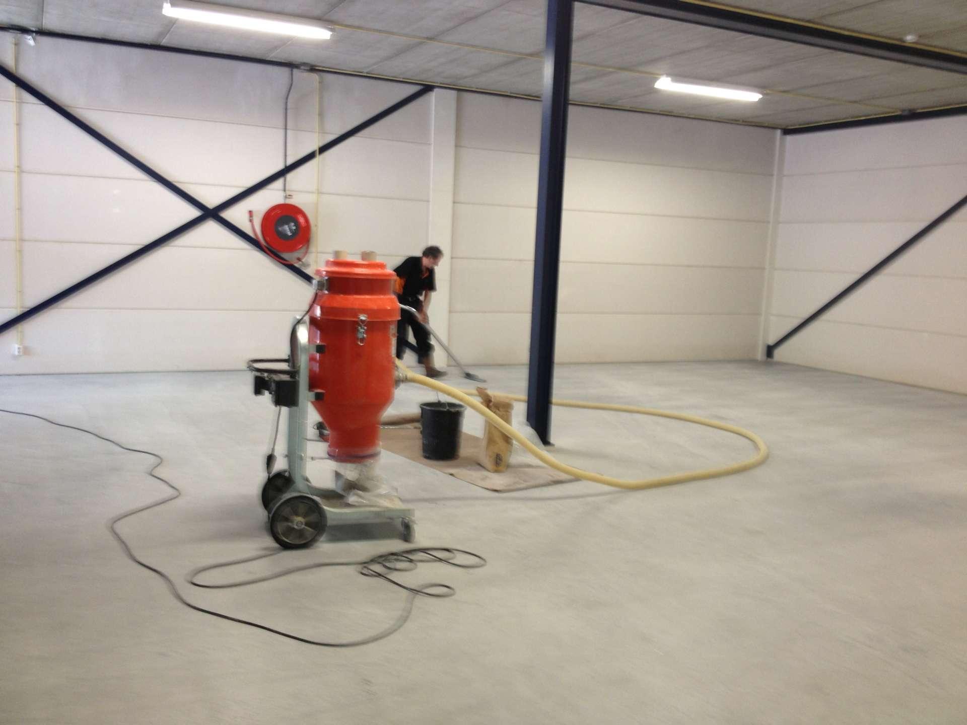vloercoating aanbrengen fabriekshal best vloerrenovatie