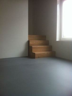 Cementgebonden vloer