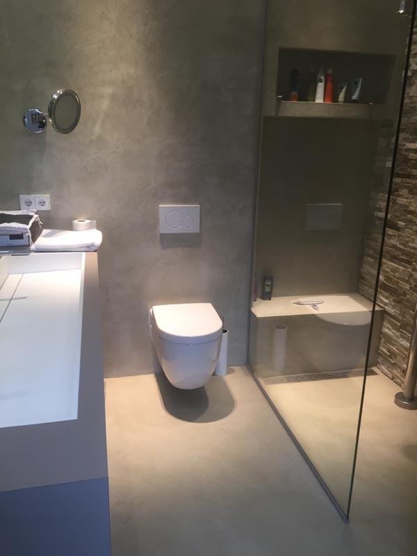 microcement badkamer apeldoorn - best vloerrenovatie, Badkamer