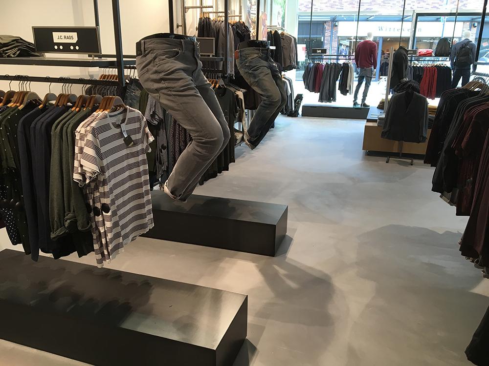 Leef-beton vloer winkelpand Open32 Etten-Leur Best Building Service