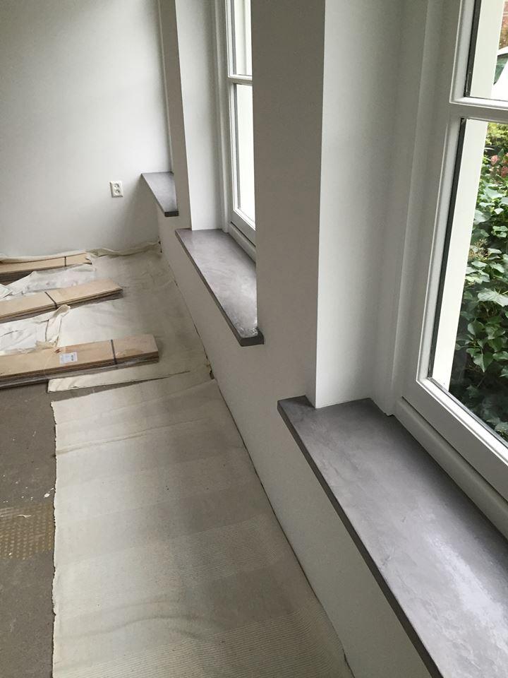 woonbeton vensterbank betonlook vensterbanken
