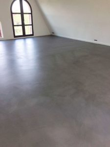 microcement appartement Amsterdam