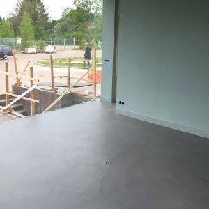 Microcement vloer Oosterbeek