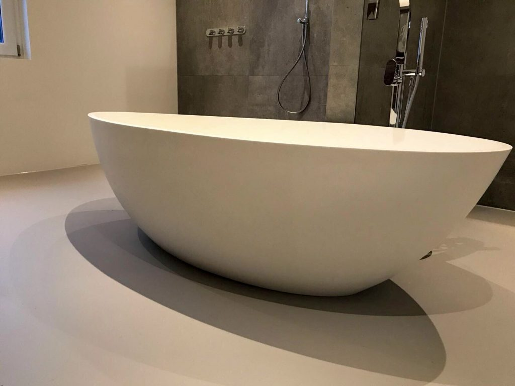 Antislip gietvloer badkamer Almelo