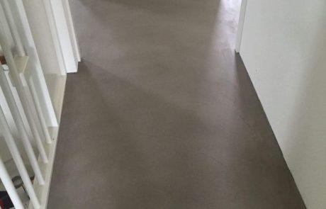 Vloer met betonlook