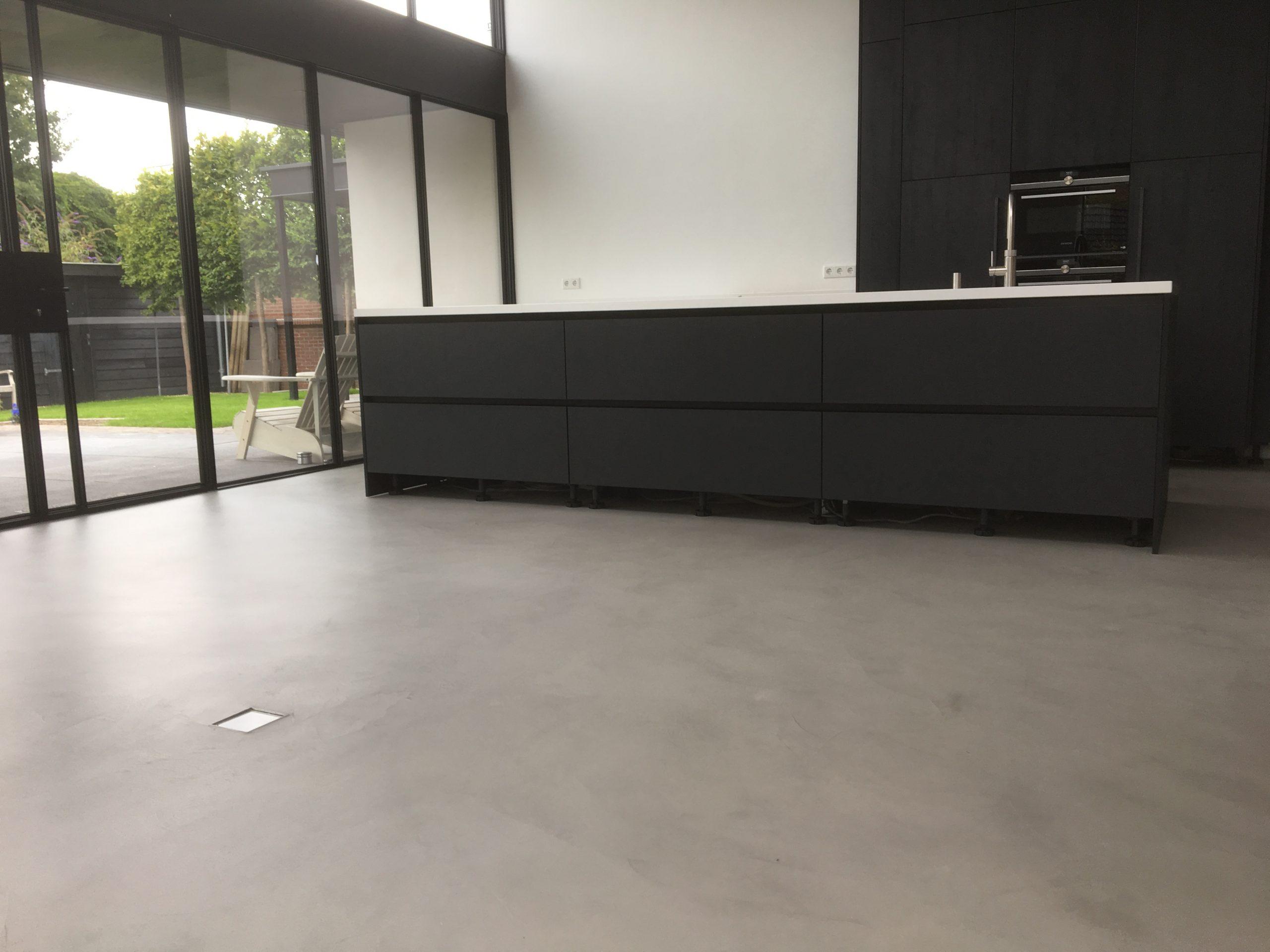 microcement, betonciré, woonbeton