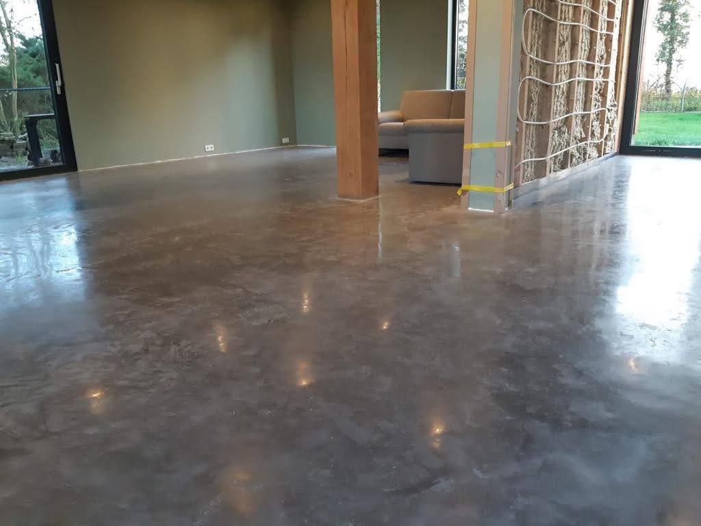 Onderhoudsarme betonvloer